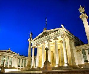 academy, Athens, and Greece image
