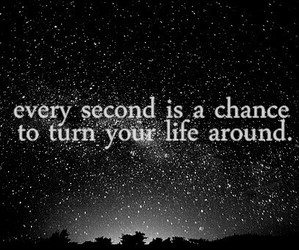 life, quotes, and chance image