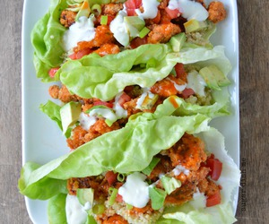 food, healthy, and wraps image