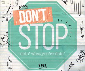 dont stop and 5sos image