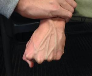 veins, grunge, and hands image