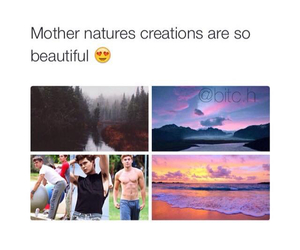 nature, funny, and mother image