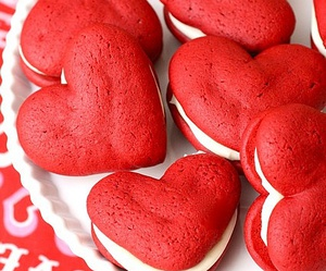 food, red, and heart image