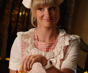 brittany, heather morris, and glee image
