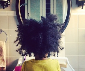 black girl, curly hair, and cute image