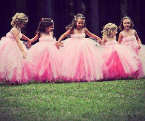 pink, dress, and cute image