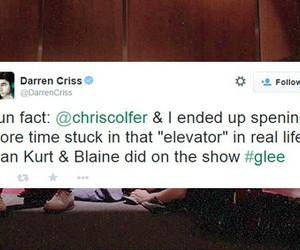 darren criss, chris colfer, and klaine image