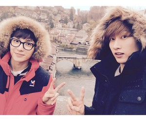 eunhyuk, Leeteuk, and super junior image