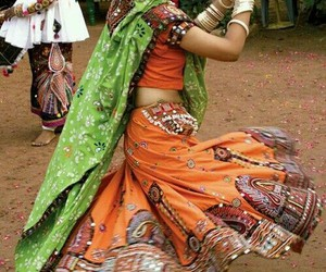 india and dancing image