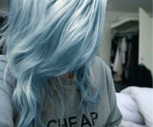amazing, blue, and hair image