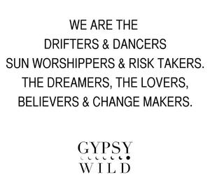 boho, fashion, and gypsy image