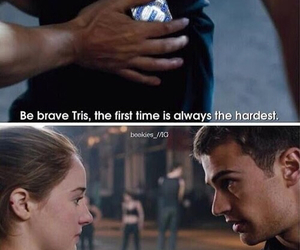 divergent, four, and funny image