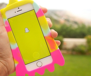 snapchat, iphone, and case image