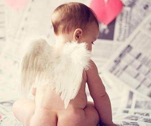 angel and baby image