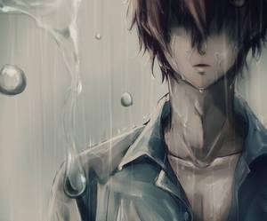 anime, diabolik lovers, and rain image