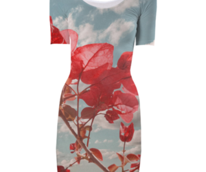 floral clothing, beautiful dresses, and floral print dress image