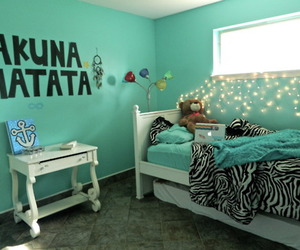room, hakuna matata, and light image