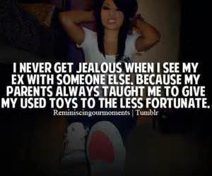 quote, jealous, and ex image
