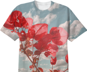 floral clothes, floral clothing, and unique clothing image