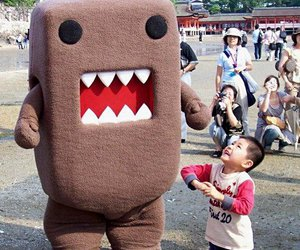domo kun, kind, and cute image