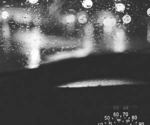 car, light, and rain image