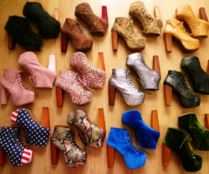 shoes, heels, and jeffrey campbell image