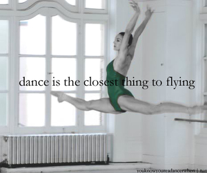 dance, fly, and ballet image