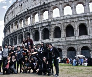 colosseum, pierce the veil, and rome image