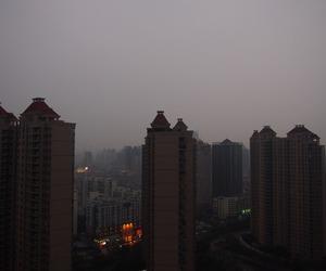 china, city, and photography image