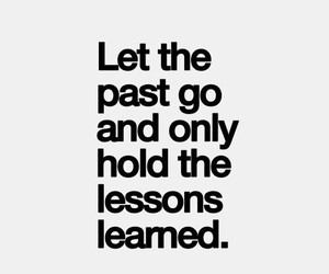 quote, lesson, and past image
