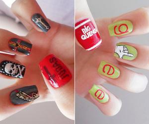 nails, glee, and judas image