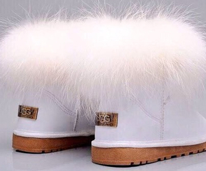 uggs, boots, and fur image
