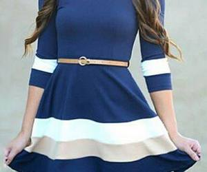dress, love it, and navy image