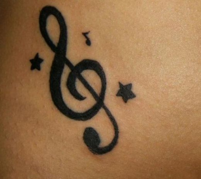 f74f2a844 Cool Music Note Tattoos Design on We Heart It
