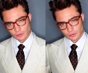 chuck bass and ed westwick image