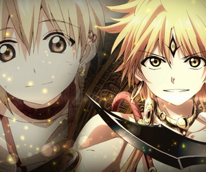 magi, anime, and alibaba image