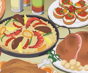 anime, food, and lobsters image