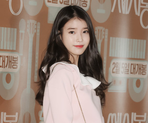 korean, lily, and iu image