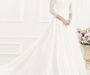 brides, gorgeous, and style image