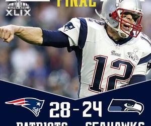 patriots, super bowl, and NFL image