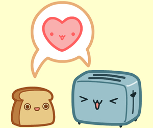 adorable, aww, and bread image
