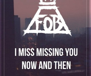 fall out boy, Lyrics, and miss missing you image