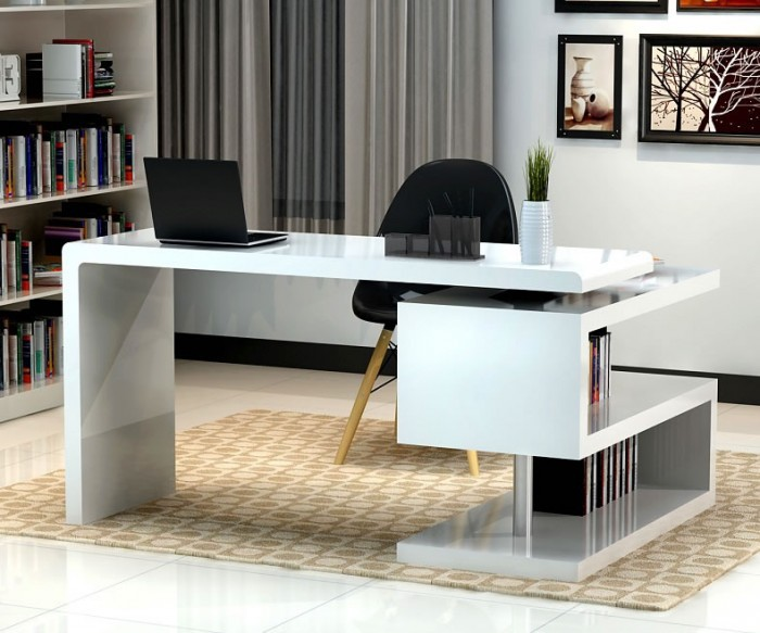Fabulous Modern Desk Furniture Designs For Home Office For Allmodern Ocoug Best Dining Table And Chair Ideas Images Ocougorg