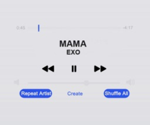 exo, header, and icon image