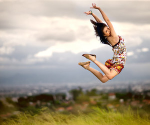GRL, jumping, and photography image