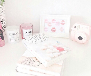 book, girly, and candles image