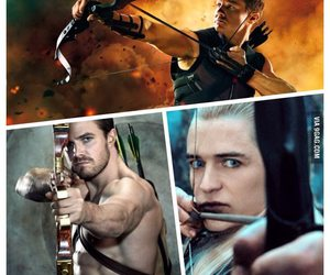 arrow, Avengers, and hawkeye image