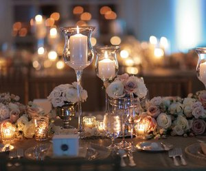 candles, decoration, and home image