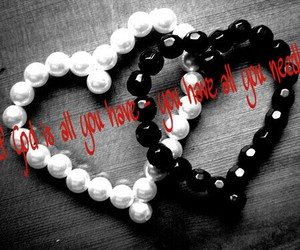 love is all you need, god loves you, and love image