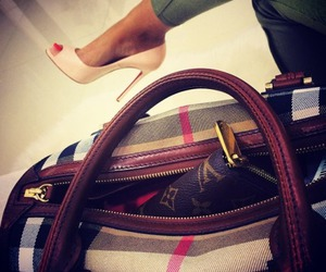 fashion, Louis Vuitton, and Burberry image